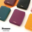 \楽天ランキング1位獲得!/ Fennec Zipper Wallet 2 フェネック 二つ折り財布 コインケース付き box型小銭入れ 韓国…