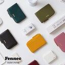 Fennec Mini Wallet 2 フェネック レディース ミニ財布 ラウンドファスナー 薄い カードケース 目薬入れ スリム ミニ …