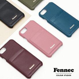 Fennec Leather iPhone7/8ケース フェネック レザー カードケース付き iPhone7 iPhone8 ケース case アイフォン 背面カバー 韓国 韓国ブランド 韓国ファッション レディース ホワイトデー おしゃれ プレゼント【ゆうパケット送料無料】