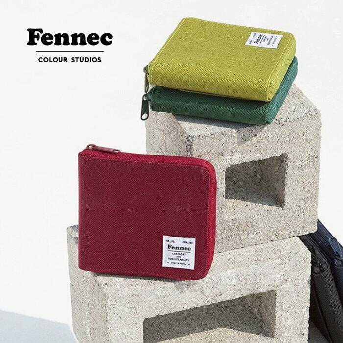 \ただいま20%OFF!/【ゆうパケット送料無料】Fennec C&S Zipper Wallet フェネック ミニ財布 レディース ブランド 二つ折り財布 サブ財布 韓国 ミニウォレット レディース メンズ 旅行 夏フェス
