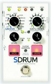 【レビューを書いて次回送料無料クーポンGET】DigiTech SDRUM エフェクター [並行輸入品][直輸入品]【デジテック】【Strummable Drums】【新品】【RCP】