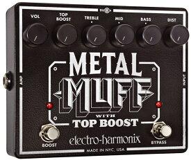 【レビューを書いて次回送料無料クーポンGET】Electro-Harmonix Metal Muff エフェクター [並行輸入品][直輸入品] 【エレクトロ・ハーモニクス】【ディストーション】【ElectroHarmonix】【Electro-Harmonix】【エレクトロハーモニクス】【新品】【RCP】