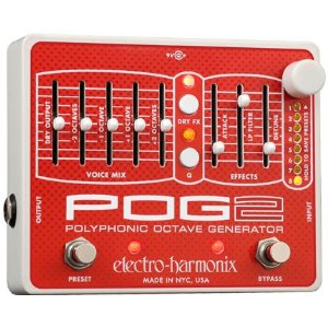 【レビューを書いて次回送料無料クーポンGET】Electro-Harmonix POG2 国内用電源アダプター付属 エフェクター [並行輸入品][直輸入品]【エレクトロ・ハーモニクス】【POG 2】【エレクトロハーモニクス】【ElectroHarmonix】【Electro Harmonix】【新品】【RCP】