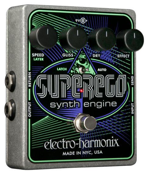【レビューを書いて次回送料無料クーポンGET】Electro-Harmonix Superego 国内用電源アダプター付属 Synth Engine エフェクター [並行輸入品][直輸入品]【エレクトロ・ハーモニクス】【シンセ】【エレクトロハーモニクス】【Electro-Harmonix】【新品】【RCP】