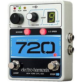 【レビューを書いて次回送料無料クーポンGET】Electro-Harmonix 720 国内用電源アダプター付属 Stereo Looper エフェクター [並行輸入品][直輸入品] 【エレクトロ・ハーモニクス】【コーラス】【エレクトロハーモニクス】【新品】【RCP】