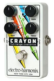 【レビューを書いて次回送料無料クーポンGET】Electro-Harmonix Crayon デザイン#02 エフェクター [並行輸入品][直輸入品] 【エレクトロ・ハーモニクス】【ElectroHarmonix】【Electro Harmonix】【エレクトロハーモニクス】【新品】【RCP】