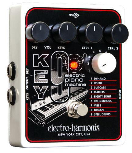 【レビューを書いて次回送料無料クーポンGET】Electro-Harmonix KEY9 国内用電源アダプター付属 Electric Piano Machine エフェクター [並行輸入品][直輸入品] 【エレクトロ・ハーモニクス】【エレクトロハーモニクス】【新品】【RCP】