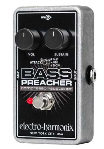 【レビューを書いて次回送料無料クーポンGET】Electro-Harmonix Bass Preacher エフェクター [並行輸入品][直輸入品] 【エレクトロ・ハーモニクス】【コンプレッサー】【エレクトロハーモニクス】【新品】【RCP】