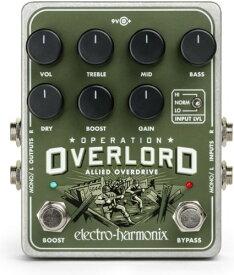 【レビューを書いて次回送料無料クーポンGET】Electro-Harmonix Operation Overlord 国内用電源アダプター付属 エフェクター [並行輸入品][直輸入品]【エレクトロ・ハーモニクス】【ElectroHarmonix】【Electro Harmonix】【エレクトロハーモニクス】【新品】【RCP】