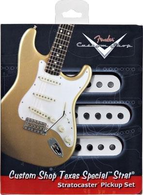 【レビューを書いて次回送料無料クーポンGET】Fender Custom Shop Texas Special Stratocaster Pickup set【フェンダー】【テキサススペシャル】【新品】【ギター用ピックアップ】【RCP】
