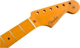 【レビューを書いて次回送料無料クーポンGET】Fender Classic Series '50s Stratocaster Neck Lacquer Finish Soft V Shape Maple【フェンダー純正パーツ】【新品】【RCP】