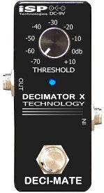 【レビューを書いて次回送料無料クーポンGET】ISP Technologies DECI-MATE Micro Decimator エフェクター [直輸入品][並行輸入品]【ノイズリダクション】【新品】【RCP】