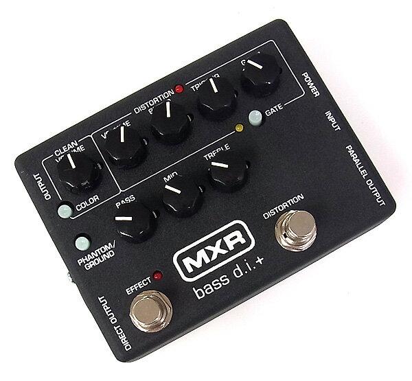 【レビューを書いて次回送料無料クーポンGET】MXR Bass D.I.+ M-80 エフェクター [直輸入品]【ディストーション】【オクターバー】【DI】【M 80】【M80】【新品】【RCP】