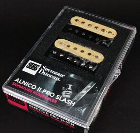【レビューを書いて次回送料無料クーポンGET】Seymour Duncan Alnico II Pro SLASH APH-2n&b Set Zebra [並行輸入品][直輸入品] 【セイモアダンカン】【APH-2】【新品】【ギター用ピックアップ】【RCP】
