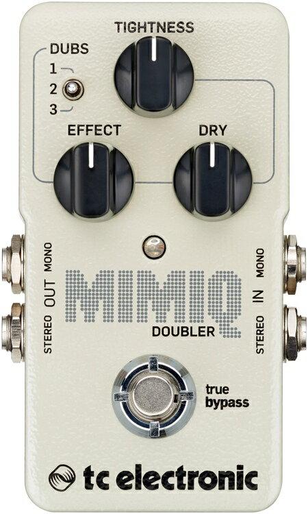 【レビューを書いて次回送料無料クーポンGET】TC Electronic Mimiq Doubler エフェクター [直輸入品][並行輸入品]【t.c.electronic】【新品】【RCP】