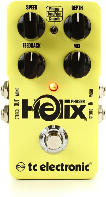 【レビューを書いて次回送料無料クーポンGET】TC Electronic Helix Phaser エフェクター [直輸入品][並行輸入品]【t.c.electronic】【新品】【RCP】