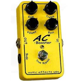【レビューを書いて次回送料無料クーポンGET】Xotic AC Booster エフェクター [直輸入品][並行輸入品]【エキゾチック】【ブースター】【新品】【RCP】