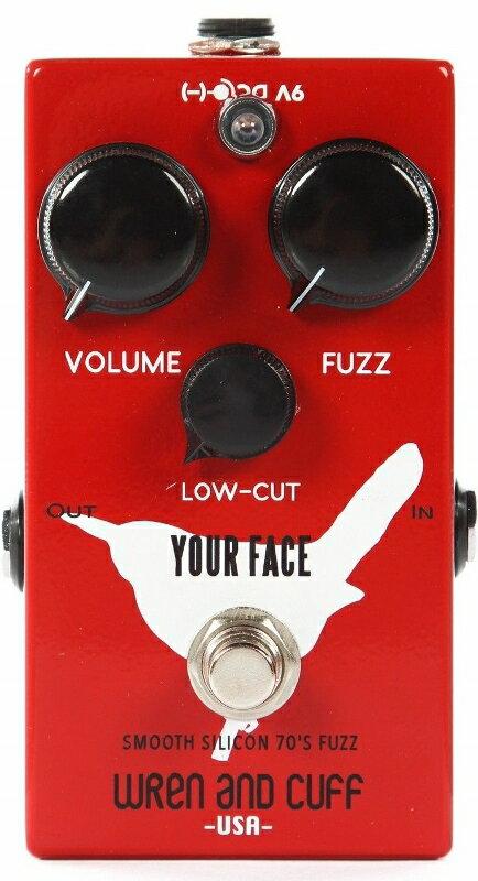 【レビューを書いて次回送料無料クーポンGET】Wren and Cuff Creations Your Face Smooth Silicon 70's Fuzz エフェクター [直輸入品][並行輸入品] 【レナンドカフ】【ファズ】【新品】【RCP】