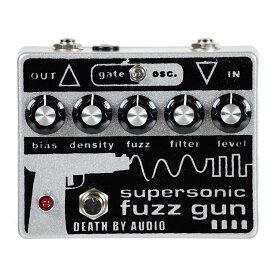 【レビューを書いて次回送料無料クーポンGET】Death By Audio Supersonic Fuzz Gun Pedal【1年保証】【デスバイオーディオ】【ファズ】【新品】【RCP】