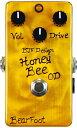 【レビューを書いて次回送料無料クーポンGET】BearFoot Guitar Effects Honey Bee OD エフェクター【メーカー1年保証】【ベアフ...