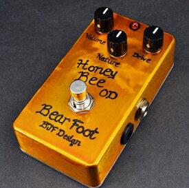 【レビューを書いて次回送料無料クーポンGET】BearFoot Guitar Effects Honey Bee OD エフェクター【1年保証】【ベアフット】【オーバードライブ】【新品】【RCP】