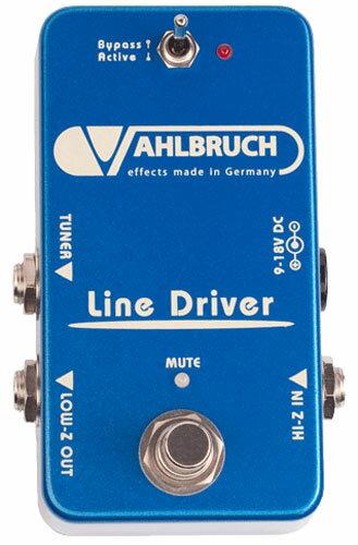 【レビューを書いて次回送料無料クーポンGET】VAHLBRUCH Line Driver エフェクター【1年保証】【ファールブルーフ】【新品】【RCP】