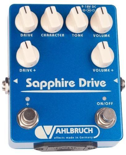 【レビューを書いて次回送料無料クーポンGET】VAHLBRUCH Sapphire Drive エフェクター【メーカー1年保証】【ファールブルーフ】【新品】【RCP】