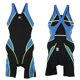 【メール便OK】MIZUNO(ミズノ) 85NC-008 競泳水着 水泳 スイムウェア ジュニア ガールズ ハーフスーツMX-01 FINA承認