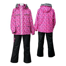 SPALDING(スポルディング) レディース 女性用 スキーウェア SPL-6542 DPINK(Dピンク)