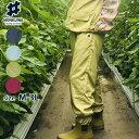 モンクワ monkuwa ヤッケパンツ MKS20003 農業女子 農作業 レディース 女性 ガーデニング 防水 撥水 園芸 作業着 可愛…