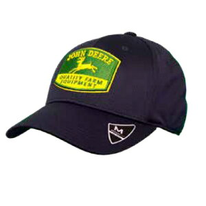 帽子 ジョンディア ストレッチCAP LP70338 John Deere ブラック キャップ ハット 農作業 おしゃれ T志 代引不可