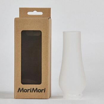 MoriMoriランタンスピーカー専用フロストガラスグローブFLS-GOP-FSLEDランタンスピーカーオプション交換用ガラス製