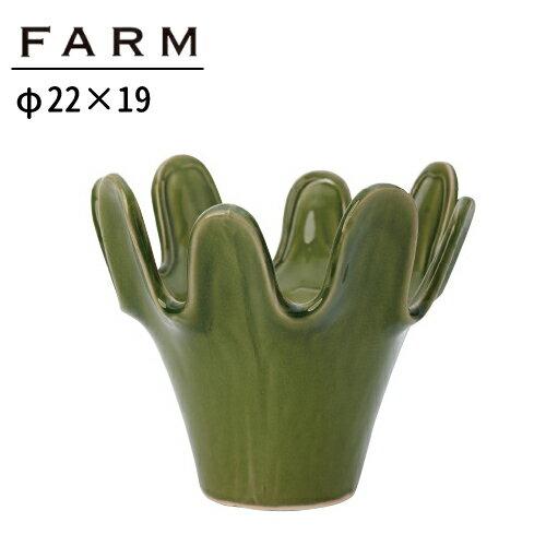 あす楽対応 FARM カクタスポット CR19 97079 一輪挿し 陶器製 鉢 ガーデニング インテリア デザイン プレゼント 雑貨
