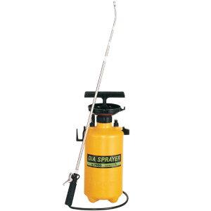 フルプラ プレッシャー式 噴霧器 No.7550 単頭式 最長1.6m 伸縮ノズル (4段式)付 5L用 霧吹き ミスト 細かい 霧 丈夫 金TD