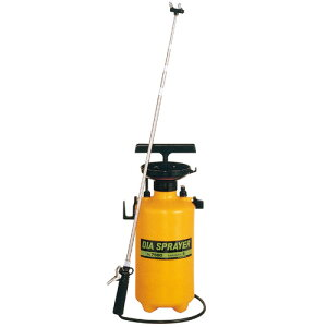フルプラ プレッシャー式 噴霧器 No.7560 2頭式 最長2.1m 伸縮ノズル (4段式)付 5L用 霧吹き ミスト 細かい 霧 丈夫 金TD