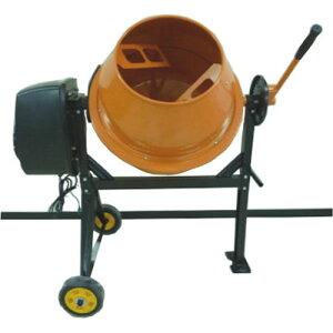電動ミキサー 中型 115L SDM-70 シンセイ 肥料 用土 撹拌 混合 作業 DIY 園芸 コンクリート モルタル かくはん機 飼料 堆肥 シN直送