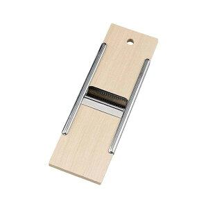 ベンリ木製両面調理器 スライサー カッター 両面調理器 千切り 木製 ステンレス 日本製 04002 小柳産業 H