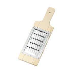 ジュジュ野菜調理器 蜂の巣 スライサー カッター ささがき 木製 ステンレス 日本製 04005 小柳産業 H