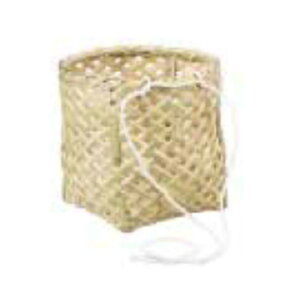 腰篭 丸型 30cm ひも付 収穫かご 腰かご 籠 竹製 45054 小柳産業 H