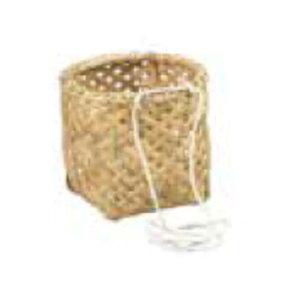 腰篭 丸型 27cm ひも付 収穫かご 腰かご 籠 竹製 45055 小柳産業 H