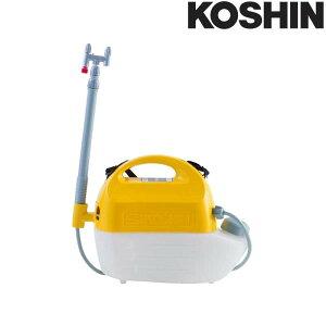 乾電池式噴霧器 ガーデンマスター GT-3HS 容量3L 2頭口 [霧状 直射 1頭口切替] 洗浄スイッチ付 重量1.3kg 工進 KOSHIN 殺虫 散布 散水 シB 代引不可