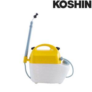 乾電池式噴霧器 ガーデンマスター GT-5HSR 除草剤専用 容量5L 3段伸縮 洗浄スイッチ付 重量1.5kg 工進 KOSHIN 散布 雑草対策 シB 代引不可