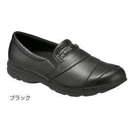 アシックス ライフウォーカー400/ブラック 21.5cm(足囲3E相当)