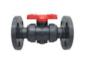 アサヒAV ボールバルブ 21型 フランジ形 JIS 10K 硬質塩ビ(U-PVC) 呼び径 2 (50A)