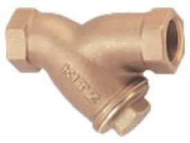 キッツ (KITZ) 10K 青銅製ねじ込み形 Y形ストレーナ Y 呼び径 3/8 (10A)