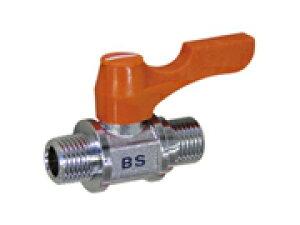 アソー エースボール 黄銅製 BS型 (両外ネジ型) PT 1/8×PF 1/8 BS-1011