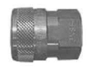 ノーバルブタイプ NSP型 ソケット×メネジ 8-NSF ステンレス (SUS304) シール材質 (フッ素ゴム)