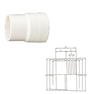 クラレプラスチックス クリーンフレキCF-NW型用 口元カフス エラストマー製 100φ用