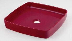 カクダイ 角型手洗器//ラズベリー 493-096-R