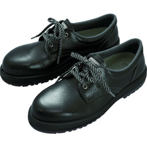 ミドリ安全 女性用ゴム2層底安全靴 LRT910ブラック 22.5cm